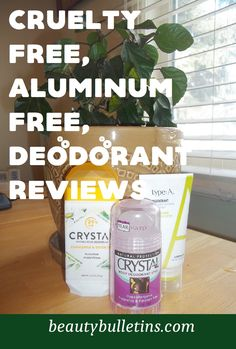 Beat the stink with these Non-Toxic and Natural Deodorants Review. Aluminum free and Cruelty free. Make Beauty, Beauty Makeup Tips, All Things Beauty, Non Aluminum Deodorant, Natural Deodorant, How To Do Makeup, Vegan Beauty, Men's Grooming, Body Products