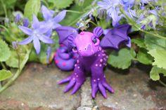 polymer clay fantasy dragon