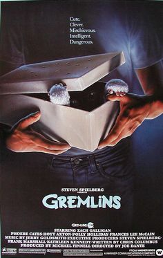 Gremlins - loving all the old movies they have on C4 at the moment!