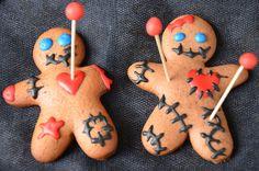 Biscuits voodoo {gingerbread revisité pour Halloween}