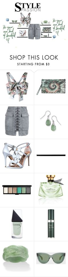 That look by theresagray31 on Polyvore featuring Zimmermann, WithChic, Ted Baker, Valentino, Palm Beach Jewelry, MAC Cosmetics, Bulgari, RéVive, GUiSHEM and Merola
