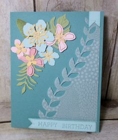 Stamp & Scrap with Frenchie: Frenchie's Team in the spotlight part 2 of Botanical Garden Vellum