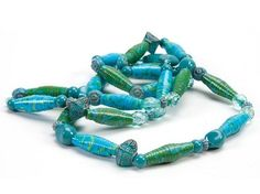 Duct Tape Crafts  Rolled Beads Necklace please follow us @ http://www.pinterest.com/ducktapesale/