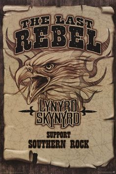 Support Southern Rock! A great Lynyrd Skynyrd poster for any rock n' roll Rebel. Published in 2007. Fully licensed. Ships fast. 24x36 inches. Check out the rest of our great selection of Lynyrd Skynyr