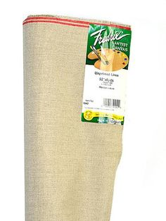 Fredrix Raw Unprimed Linen Canvas 52 in. x 6 yd. roll