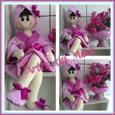 Boneca de Banheiro - YouTube Doll Crafts, Fun Crafts, Diy And Crafts, Crafts For Kids, Arts And Crafts, Doll Clothes Patterns, Doll Patterns, Fabric Dolls, Paper Dolls