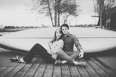 Another of our engagement pictures :) ... I'm quite swooned by that man. (Photo by Tonhya Kae Photography)