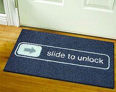 funny doormats!