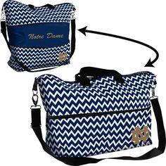 NEW ITEM! Notre Dame Expandable Tote Bag, $39.95