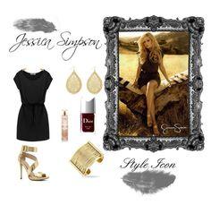 """#styleicon"" by enfashionistas on Polyvore featuring Jessica Simpson, ALDO, Christian Dior and styleicon"