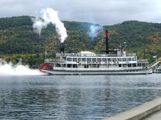 Minne Ha Ha Steamboat on Lake George, NY