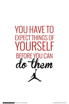 """Michael Jordan Quote on Print. See more at www.finesportsprits.com #bulls #sportsquote #jordan"""