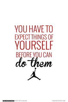 """Michael Jordan Quote on Print. See more at www.finesportsprits.com #bulls #sportsquote #jordan"""