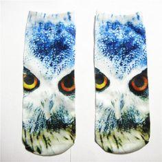 3D Animal Print Socks