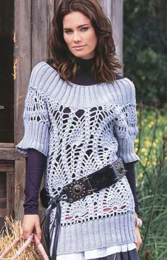 Crochet: motivo de piña | SexyCrochet.COM need to translate and also purchase