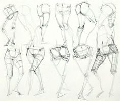 Anatomy Drawing Reference Ron Lemen Anatomy Legs t Anatomy Figure drawing Anatomy Sketches, Anatomy Drawing, Anatomy Art, Human Anatomy, Art Sketches, Art Drawings, Drawing Legs, Gesture Drawing, Body Drawing