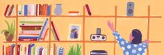 Our (Bare) Shelves, Our Selves - NYTimes.com - thoughtful research on the impact of physical books in the home