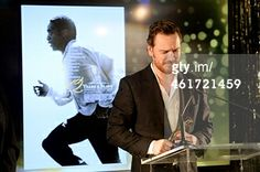 Michael Fassbender accepting his AACTA award for Best Supporting Actor - January 10 2014