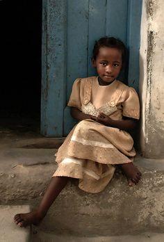 Girl From Zanzibar, Photo by David Lazar, via Flickr.