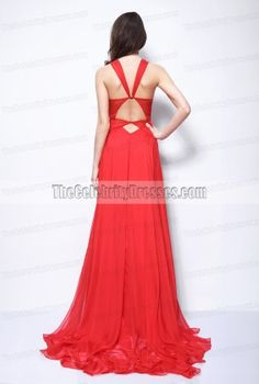Rihanna Red Prom Dress Grammys 2013 Red Carpet Evening Formal Gown