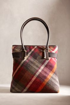 Talbots Fall 2012 Blanket plaid tote