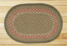 x Green Burgundy Braided Jute Oval Rug. This floor rug is made from natural jute fiber. Jute fiber is harvested from the bamboo like jute plant and is a natural fire r Kitchen Area Rugs, Braided Area Rugs, Oval Rugs, Jute Rug, Mild Soap, Wool Rug, Rug Size, Burgundy, Braids