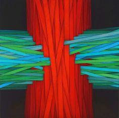 2016, The graft, cm 40x40, acrylic on canvas