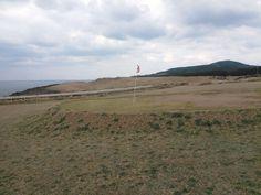 宇久の牛の放牧場 兼 ゴルフ場