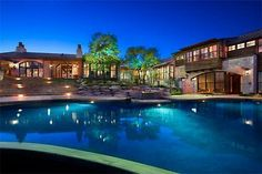 Big house with a big ass pool `
