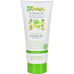 Andalou Naturals Shower Gel - Citrus Verbena Uplifting - 8.5 fl oz