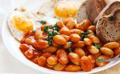 Fasolka po angielsku. Przepis na beaked beans Chana Masala, Pizza, Cooking, Ethnic Recipes, Food, Baking Center, Koken, Meals, Yemek