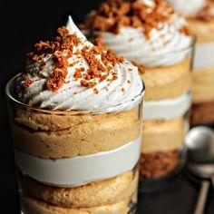 Pumpkin Cheesecake Trifles