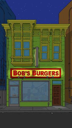 Bobs burgers nighttime iphone wallpaper