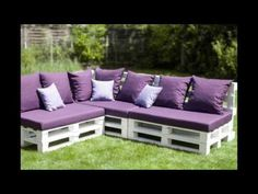 Over 100 Creative DIY Pallet Furniture Ideas - Cheap Recycled Pallet - Chair Bed Table Sofa - YouTube