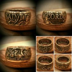 Available NOW, ONLY @ www.reedscustomrings.etsy.com #firefighter #firefighters #EMT #firstresponder #rescue #fireandrescue #firefighterwife #leo #heroes #hero #usmcvet #veteranowned #usmarines #usarmy #usnavy #usairforce  #veteran #teamlove #edc #coinring #paramedic