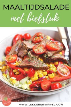 I Love Food, Good Food, Meat Recipes, Healthy Recipes, Food Inspiration, Veggies, Tasty, Lunch, Meals