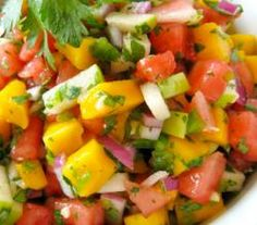 Tomato Pineapple Corona Salsa recipe from ifood.tv. Please see video
