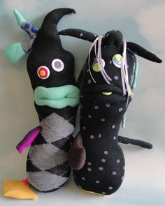 In love. Sock Monsters.