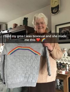 """Moments That Prove Grandparents Are Truly The Best - Funny memes that """"GET IT"""" and want you to too. Get the latest funniest memes and keep up what is going on in the meme-o-sphere. Lgbt Quotes, Lgbt Memes, Quotes Quotes, Wife Quotes, Sister Quotes, Daughter Quotes, Mother Quotes, Heart Quotes, Friend Quotes"""