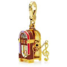Juicy Couture Jukebox Charm ($20) ❤ liked on Polyvore