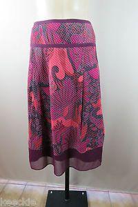 Size XL 16 Katies Ladies A Line Peasant Skirt High TEA Boho Feminine Work Style | eBay