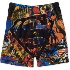 Superman Men's Boxers, Multicolor