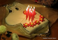 moomin cake decorations - Google Search