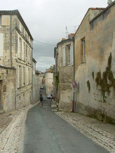 Les rues de Saintes