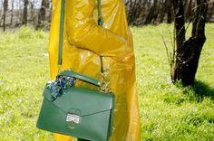 Trendy Plastic: plastic see-through raincoat - Dalahi Ortiz
