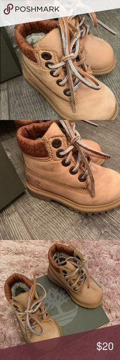 Kids Timberland Boots Size 9.5 Fashionable Patterns Boys' Shoes