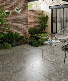Spaces™ Adelfia Outdoor Tiles | Topps Tiles Outdoor Tiles, Outdoor Decor, Outside Flooring, Veg Patch, Topps Tiles, Seamless Transition, Extreme Weather, Get Outside, Terrazzo