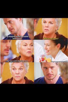Hahah funny Derek mama !