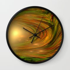 Buy  The Core  Wall Clock by Giada Rossi. Worldwide shipping available at Society6.com. Just one of millions of high quality products available.