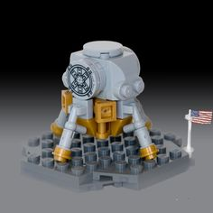 52 weeks of Lego vignettes show a very weird 2014 Lego Tv, All Lego, Lego Space Station, Lego Universe, Lunar Lander, Lego Juniors, Micro Lego, Lego Activities, Cool Lego Creations